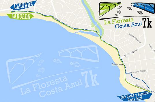 Circuito 7k La Floresta - Costa Azul