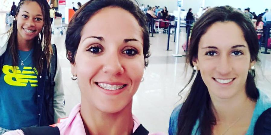 Tres de las uruguayas que competirán en Buenos Aires